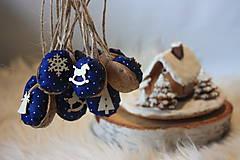 Dekorácie - Vianočné oriešky - 8877946_