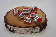 Dekorácie - Vianočné oriešky - Folk - 8878012_