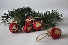 Dekorácie - Oriešky na stromček - 8878049_