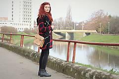 Veľké tašky - Aktovka korková natural - 8876281_