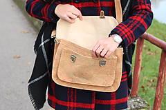 Veľké tašky - Aktovka korková natural - 8876284_