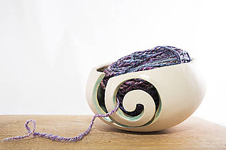 Nádoby - klbko miska / yarn bowl - 8874496_