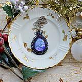 Náhrdelníky - Jaspisový n.5 - šitý náhrdelník - 8877644_