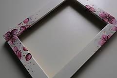 Rámiky - Rámik na fotku-čerešňový kvet - 8877320_