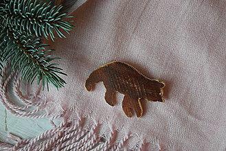 Odznaky/Brošne - Medveď na kabát - 8878322_