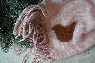 Odznaky/Brošne - Vtáčik na kabát - 8878368_