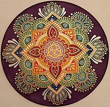 Dekorácie - Mandala harmónie a energie - 8879396_