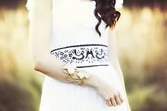 Šaty - Biele plisované šaty Slavianka - 8877918_