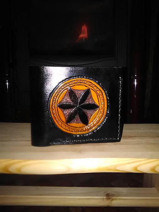 Kožená peňaženka Svarga
