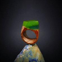 Prstene - Drevený prsteň: Bosá - 8876196_