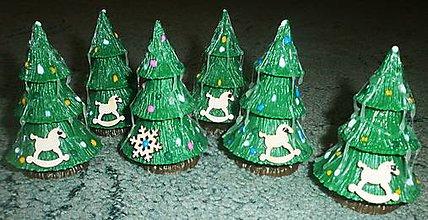 Dekorácie - stromčeky malé - 8876187_