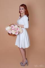 Šaty - Bambusové šaty biele Popoluška - 8878140_