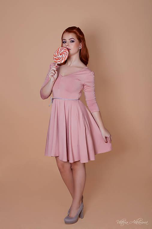 aca284bbc466 Bambusové šaty staroružové Barbie   CHICLovely - SAShE.sk - Handmade ...
