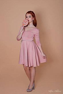 Šaty - Bambusové šaty staroružové Barbie - 8878055_