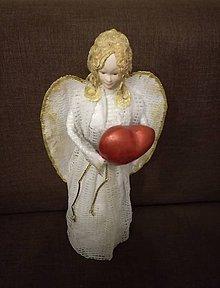 Socha - Biely anjel - 8875104_