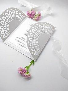 Papiernictvo - svadobné oznámenie 102 - 8875760_