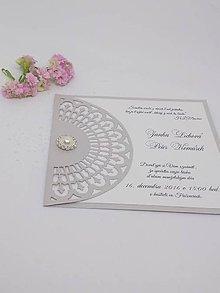 Papiernictvo - svadobné oznámenie 103 - 8876552_