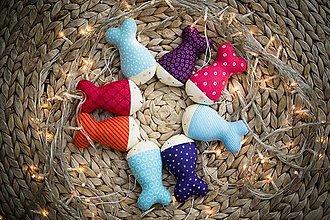 Dekorácie - Vianočné rybičky - 8874501_