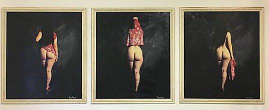 Fotografie - Umelecká fotografia akt Triptych - 8876471_