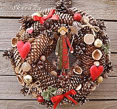 Dekorácie - Vianoce s anjelom - 8878869_