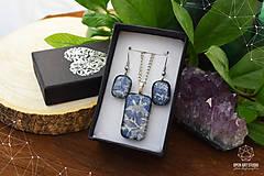 Sady šperkov - Frosty sada sklenených šperkov - 8879492_
