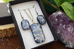 Sady šperkov - Frosty sada sklenených šperkov - 8879493_