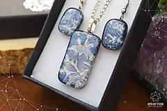 Sady šperkov - Frosty sada sklenených šperkov - 8879494_