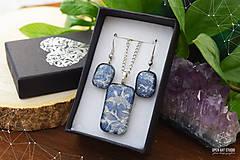 Sady šperkov - Frosty sada sklenených šperkov - 8879495_