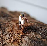 """Prstene - Obrúčky """"som klasik"""" so srdiečkami - 8879767_"""