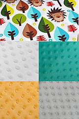 Textil - BUVI... Farebné Zvieratká & MiNKy... deka pre najmenších ♥ - 8880084_