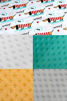 Textil - BUVI... Veselé jazvečíky & MiNKy... deka pre najmenších ♥ - 8880104_