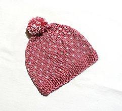 Detské čiapky - Detská čiapka - Bodkovaná - 8883941_