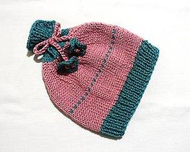 Detské čiapky - Detská čiapka - Babská - 8883962_