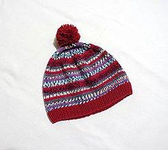 Detské čiapky - Detská čiapka - Strakatá - 8883983_