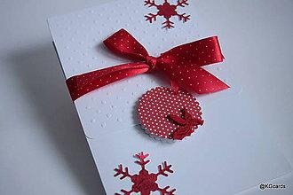 Papiernictvo - Vianočné obaly na fotky 15x23cm (vzor 1) - 8884040_