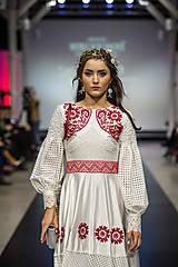 Ozdoby do vlasov - Mosadzný exkluzívny konárikový venček s kvetmi, ruženínmi a guličkami - Slavianka - 8881850_