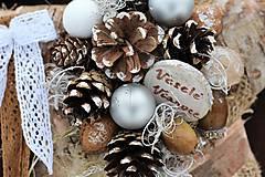 Dekorácie - Vianočná hviezdička - 8880818_