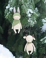 Dekorácie - Zvieratka ako Vianočné ozdoby - 8880321_