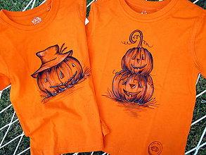 Detské oblečenie - Halloween a tekvice - 8884328_