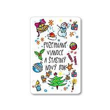 Magnetky - Magnetka - požehnané vianoce - 8881992_