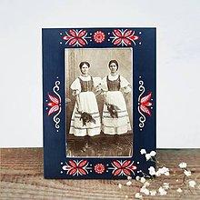 Rámiky - Maľovaný rámček - Folk - 8880843_