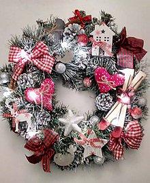 Dekorácie - Vianočný venček II - 8879773_