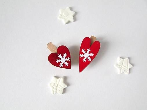 Darčekové štipce - mini - 2 kusy