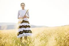 Šaty - Lupienkové šaty Slavianka - 8881431_