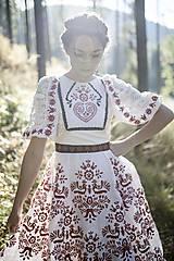 Šaty - Vyšívané šaty Slavianka - 8881805_