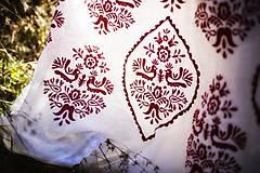 Šaty - Vyšívané šaty Slavianka - 8881806_