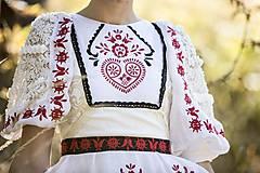 Šaty - Vyšívané šaty Slavianka - 8881812_