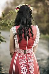 Šaty - Červené šaty Slavianka - 8884000_