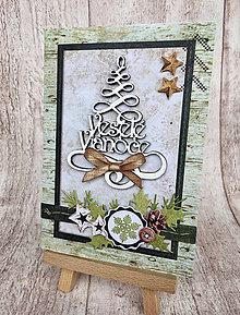 Papiernictvo - Vianočná pohľadnica - 8882106_