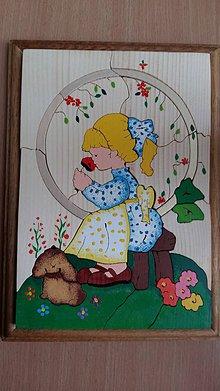 Hračky - Dievča v kruhu - 8880853_